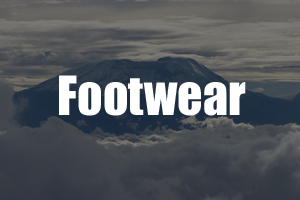 Footwear Kilimanjaro Guide - Packing List