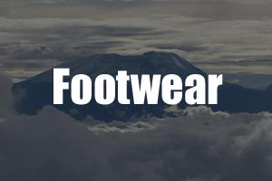 Footwear Kilimanjaro Guide - Packing List