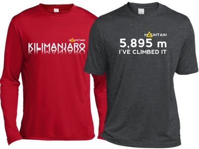 Kili 2 long and short sleeve shirts Mountain IQ