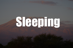 Sleeping Kilimanjaro Guide - Packing List