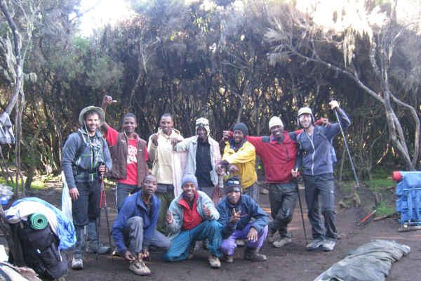 tipping on kilimanjaro