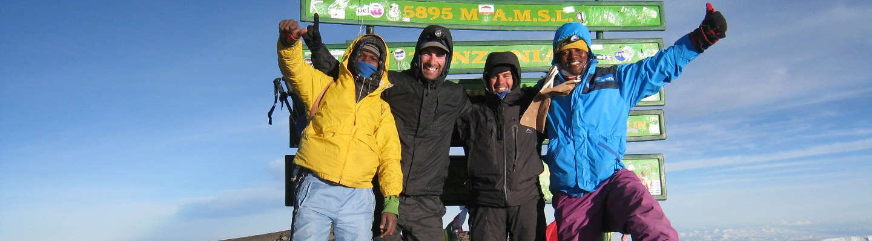kilimanjaro-site-map