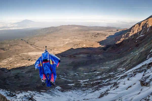 kilimanjaro base jump