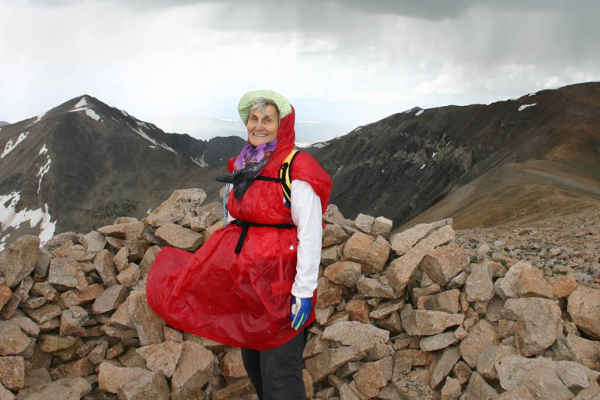 Anne Lorimor Kilimanjaro