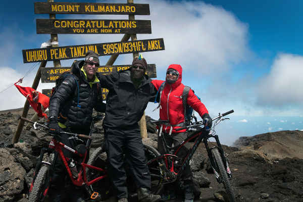 Rebecca Rusch Kilimanjaro