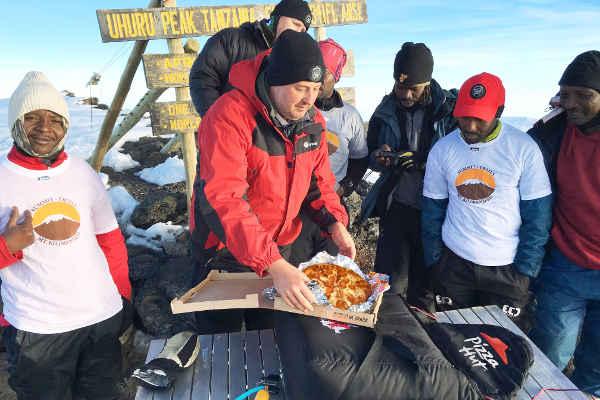 pizza hut kilimanjaro