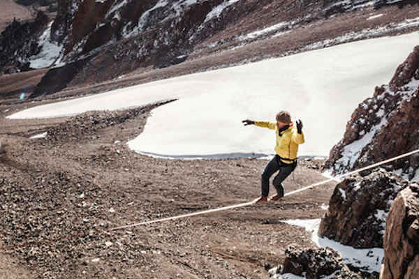 highline on kilimanjaro