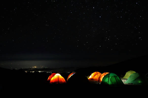kilimanjaro rongai night