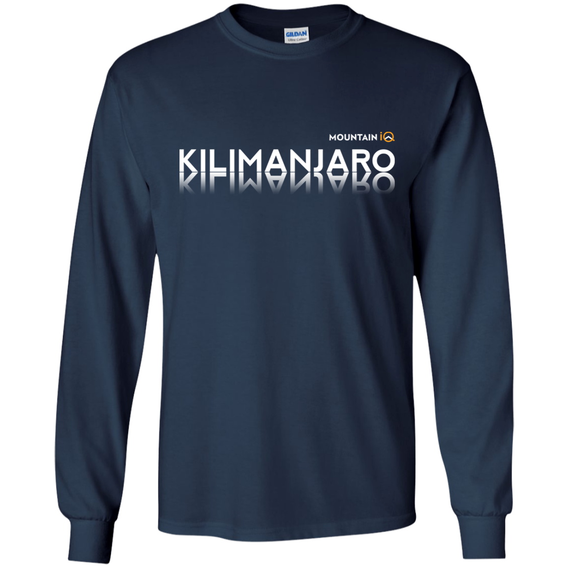 Kilimanjaro Long Sleeve Navy MountainIQ