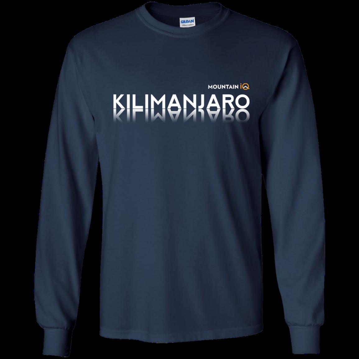 Kilimanjaro Long Sleeve Navy MountainIQ
