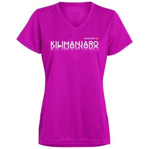 Kilimanjaro-Womens-T-Shirt-Cotton-Wicking