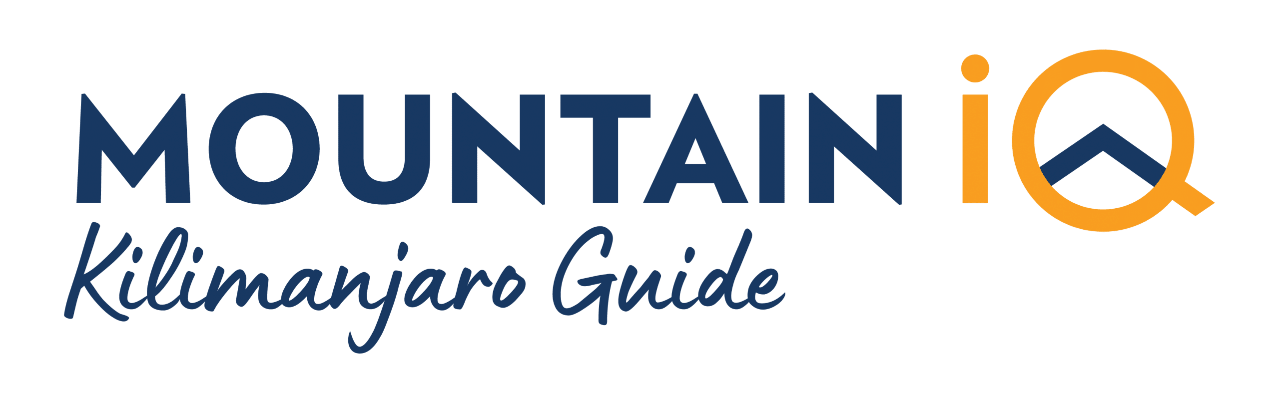kilimanjaro guide mountain iq logo