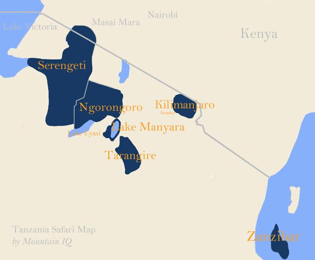 tanzania safari parks northern zone