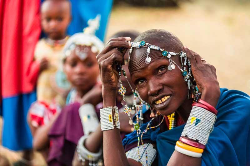 Maasai-Woman-Jewelry