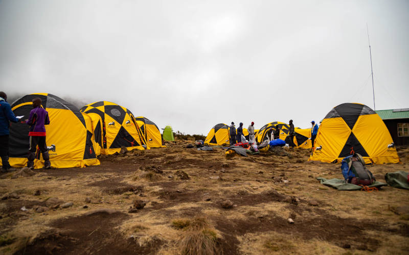 campsite-tents-on-kilimanjaro