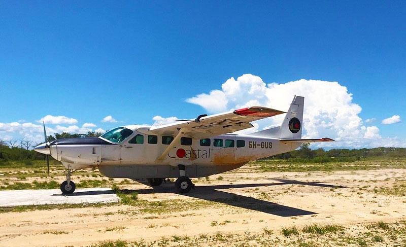 Coastal-Airline-Tanzania-Plane