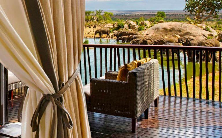 Serengeti National Park Hotels Four-Seasons-Safari-Lodge-Serengeti-Terrace-waterhole