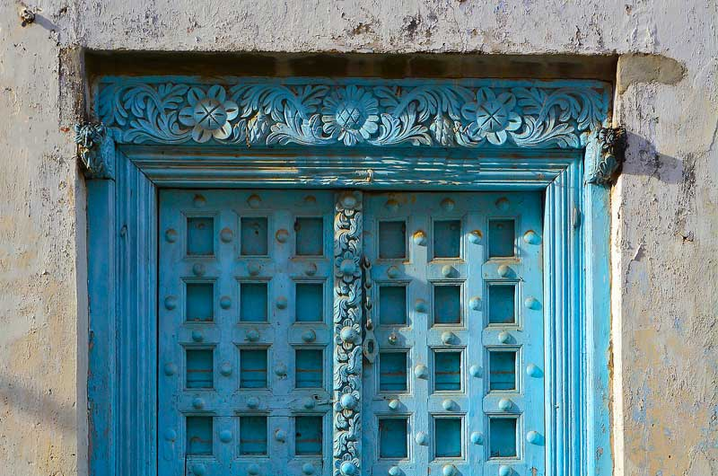 Zanzibar-Blue-Door-Culture