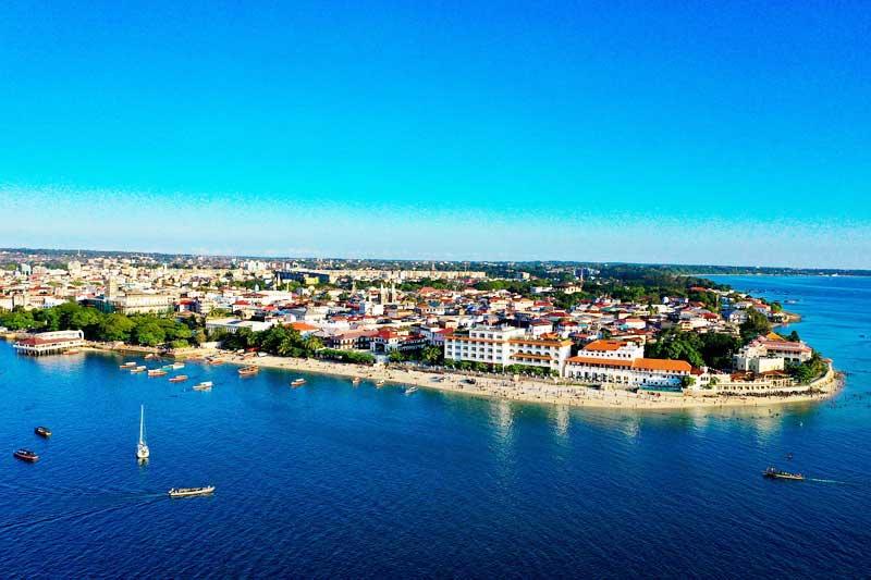 Zanzibar-Stone-Town-Arial