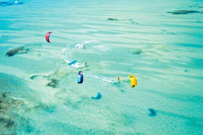 kite-surfing-zanzibar Paje Beach
