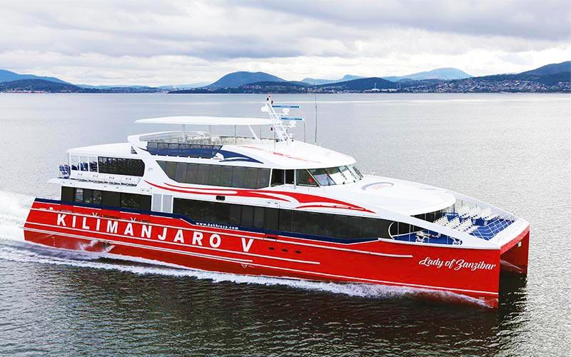Ferry From Dar es Salaam to Zanzibar