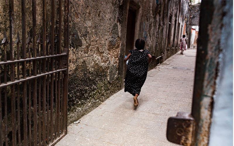 Stone Town Zanzibar Street